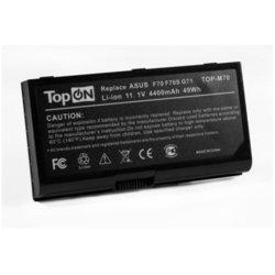 Аккумулятор для ноутбука Asus F70, G71, G72, M70, N70, N90, X71, X72 (TOP-M70-LW) - Аккумулятор для ноутбука (TopON) Волжск компьютеры и аксессуары