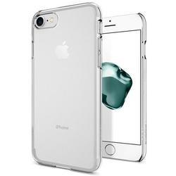 Клип-кейс для Apple iPhone 7 Spigen Thin Fit Series (042CS20934) (кристально-прозрачный) - Чехол для телефонаЧехлы для мобильных телефонов<br>Защитит смартфон от грязи, пыли, брызг и других внешних воздействий.