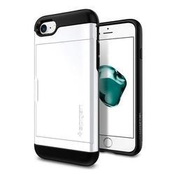 Чехол-накладка для Apple iPhone 7, 8 (Spigen Slim Armor CS 042CS21038) (белый) - Чехол для телефона  - купить со скидкой