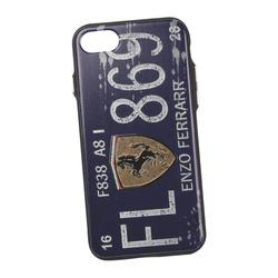 Чехол-накладка для Apple iPhone 7, 8 (Liberty Project 0L-00030307) (Номер Энзо Феррари, синий) - Чехол для телефона  - купить со скидкой