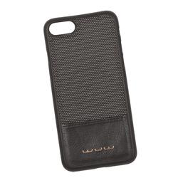 Чехол-накладка для Apple iPhone 7, 8 (WUW 0L-00030174) (черный) - Чехол для телефонаЧехлы для мобильных телефонов<br>Чехол-накладка плотно облегает заднюю крышку телефона и гарантирует ее надежную защиту от пыли, царапин, потертостей и других вешних воздействий. Имеет магнитное покрытие и может выступать в качестве магнитного держателя.