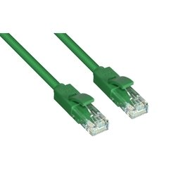 Патч-корд UTP кат. 6, RJ45 0.2м (Greenconnect GCR-LNC605-0.2m) (зеленый)