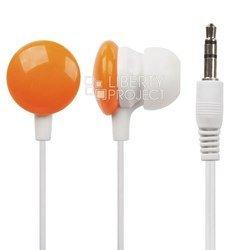 Наушники Конфетки (Liberti Project 0L-00028676) (оранжевый) - НаушникиНаушники и Bluetooth-гарнитуры<br>Наушники Конфетки: импеданс 16 Ом, вставные, динамические, 20 - 20000 Гц, чувствительность 100 дБ/В, длина кабеля 1.2 м, разъём mini jack 3.5мм.