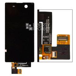 Дисплей для Sony Xperia M5 с тачскрином в сборе (0L-00028009) (черный) - Дисплей, экран для мобильного телефона