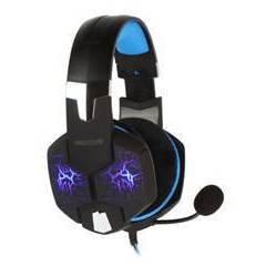 Smartbuy Rush Taipan SBHG-3000 (черно-синий) - Компьютерная гарнитураКомпьютерные гарнитуры<br>Игровая гарнитура с виртуальным звуком 7.1, частотный диапазон: 18Гц – 20000Гц, диаметр мембраны: 50мм, велюровые амбушюры.