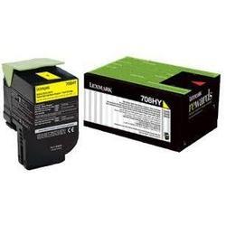Картридж для Lexmark CS310, CS410, CS510 (70C8HYE) (желтый) - Картридж для принтера, МФУКартриджи<br>Картридж совместим с моделями: Lexmark CS310, CS410, CS510.
