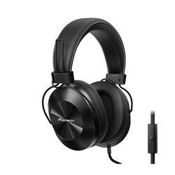 Pioneer SE-MS5T-K (черный) - НаушникиНаушники и Bluetooth-гарнитуры<br>Наушники проводные, накладные, полноразмерные, закрытые, длина кабеля - 1.2 м, микрофон, регулятор громкости, частотный диапазон - 9-40000 Гц, чувствительность - 96 дБ, максимальная мощность -  1000 мВт, сопротивление - 32 Ом, разъем mini-jack (3.5 мм).