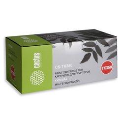 Картридж для Kyocera Mita FS 3040, 3140, 3540, 3640, 3920, 3920DN (Cactus CS-TK350) (черный) - Картридж для принтера, МФУ