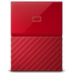 WD My Passport 1TB (WDBBEX0010BRD-EEUE) (красный) - Внутренний жесткий диск HDDВнутренние жесткие диски<br>Тип HDD, форм-фактор 2.5quot;, 1Тб, интерфейс USB 3.0, функция резервного копирования.