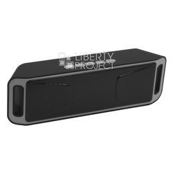 Портативная колонка S208 (Liberti Project 0L-00029220) (черный) - Колонка для телефона и планшетаПортативная акустика<br>Беспроводная портативная колонка, Bluetooth, microSD, USB, AUX.