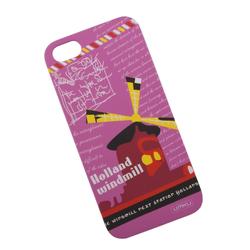 Чехол-накладка для Apple iPhone 5, 5S (UMKU 0L-00002613) (розовый, рисунок) - Чехол для телефона  - купить со скидкой