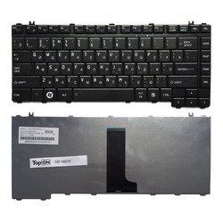 Клавиатура для ноутбука Toshiba Satellite A200, A205, A210, A215, M200 Series (TOP-100274) (черный) - Клавиатура для ноутбука