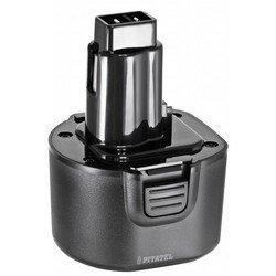 Аккумулятор для инструмента DeWalt (3.0Ah 9.6V) (TSB-014-DE96-30M) - АккумуляторАккумуляторы и зарядные устройства<br>Аккумулятор для инструмента DeWalt, напряжение - 9.6 В, емкость - 3 Ач, химический состав: Ni-Mh. Совместимые модели инструмента: DeWalt 246536, DC750, DC750KA, DC855KA, DW050, DW050K, DW902, DW913, DW926, DW926K, DW926K-2, DW926K-A9, DW952, DW952K-2, DW955, DW955K, DW955K-2, DW961, DW961K-2, DW962, DW962K-2, DW964, DW964K-2.