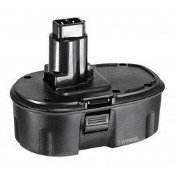 Аккумулятор для инструмента DeWalt (1.5Ah 18V) (TSB-013-DE18A-15C) - АккумуляторАккумуляторы и зарядные устройства<br>Аккумулятор для инструмента DeWalt, напряжение - 18 В, емкость - 1.5 Ач, химический состав: Ni-Cd. Совместимые модели инструмента: DeWalt DC212, DC212B, DC212KA, DC212KB, DC212KZ, DC212N, DC213KB, DC330, DC330K, DC330KA, DC330KB, DC330N, DC380KA, DC380KB, DC380N, DC385, DC385B, DC385K, DC390, DC390B, DC390K, DC390KA, DC390KB, DC390N.