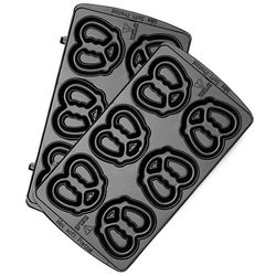 Панель для мультипекаря Redmond RAMB-08 (черный) - Аксессуар для МБТАксессуары для МБТ<br>Универсальные съемные панели для любого мультипекаря Redmond. Позволят приготовить миниатюрные сладкие или соленые крендели, которые станут отличным десертом или легкой закуской. Панели изготовлены из металла с антипригарным покрытием – они долговечны и легки в уходе.