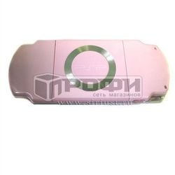 Панель задняя для Sony PSP Slim 2000 (М0019820) (розовый) - Запчасть для PSP