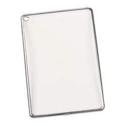 Чехол-накладка для Apple iPad Air 2 (Liberti Project 0L-00029494) (прозрачный, серая рамка) - Чехол для планшета  - купить со скидкой