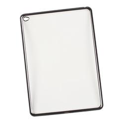 Чехол-накладка для Apple iPad Air 2 (Liberti Project 0L-00029495) (прозрачный, черная рамка) - Чехол для планшета  - купить со скидкой