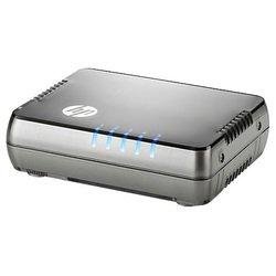 HP Enterprise 1405 5G v3 - МаршрутизаторМаршрутизаторы и коммутаторы<br>Неуправляемый коммутатор, 5 портов 10/100/1000BASE-T, таблица MAC-адресов: 2К.