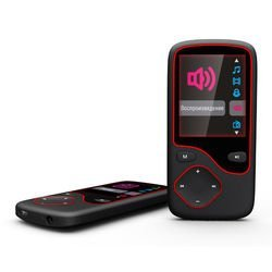 Digma Cyber 3L 4Gb (черно-красный) - Mp3 плеер  - купить со скидкой