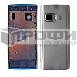 Корпус для Nokia X6 32Gb (М0034700) (серебристый) - Корпус для мобильного телефонаКорпуса для мобильных телефонов<br>Потертости и царапины на корпусе это обычное дело, но вы можете вернуть блеск своему устройству, поменяв корпус на новый.