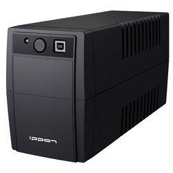 Ippon Back Basic 850 Euro (черный) - Источник бесперебойного питания, ИБПИсточники бесперебойного питания<br>Мощность 850 ВA/480 Вт, выходные розетки типа EURO с батарейной поддержкой: 2, ступенчатая аппроксимированная синусоида.