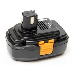 Аккумулятор для инструмента Panasonic (3.0Ah 18V) (TSB-165-PAN18-30M) - АккумуляторАккумуляторы и зарядные устройства<br>Аккумулятор для инструмента Panasonic, напряжение - 18 В, емкость - 3 Ач, Химический состав: Ni-Mh. Совместимые модели инструмента: Panasonic EY3544, EY3544GQK, EY3551, EY3551GQ, EY3551GQW, EY3552, EY3552GQW, EY3796, EY3796 (Flash Light), EY3796B, EY3796B (Flash Light), EY6450, EY6450GQKW, EY6950, EY6950GQKW.