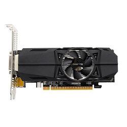 GIGABYTE GeForce GTX 1050 Ti 1328Mhz PCI-E 3.0 4096Mb 7008Mhz 128bit DVI HDMI DP RTL - ВидеокартаВидеокарты<br>1328/7008МГц, 4096 Мб, GDDR5, 128 бит, DVI, 1xDP, 2xHDMI.