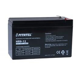 Pitatel HR9-12 - Батарея для ибпАккумуляторные батареи<br>Химический состав свинцово-кислотная, напряжение 12В, емкость 9Ач.<br>Совместимые модели: APC RBC17, DELTA DTM 1209, LEOCH DJW12-9.0, Sacred Sun SSP12-9, DELTA HRL 12-9 (1234W), CSB HR 1234W, Yuasa NPW45-12 (8,5 Ач), Panasonic UP-VW1245P1(UP-RW1245P1), CSB UPS 12460, BB Battery HRC1234W, CSB HRL 1234W, BB Battery HR9-12.