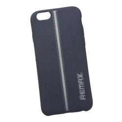 Чехол-накладка для Apple iPhone 6, 6S (Remax Star Series Case 0L-00030378) (синий с серой полосой) - Чехол для телефонаЧехлы для мобильных телефонов<br>Защитит смартфон от грязи, пыли, брызг и других внешних воздействий.