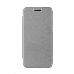 Чехол-книжка для Samsung Galaxy A7 2017 (Muvit Bling Folio Case MLFLC0017) (металлик) - Чехол для телефонаЧехлы для мобильных телефонов<br>Обеспечит надежную защиту от царапин, грязи и ударов.