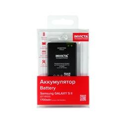 Аккумулятор для Samsung GALAXY S2 I9100 1700мАч (INVICTA INVBAT9100) - АккумуляторАккумуляторы<br>Аккумулятор рассчитан на продолжительную работу и легко восстанавливает работоспособность после глубокого разряда.