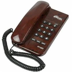 Ritmix RT-320 (коричневый) - Проводной телефон
