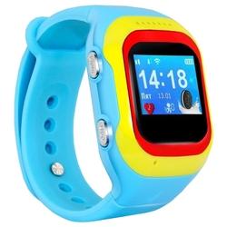 Ginzzu GZ-501 (голубой) - Умные часы, браслетУмные часы и браслеты<br>Умные часы детские, влагозащищенные, пластиковый корпус, экран, 0.98quot;, встроенный телефон, совместимость с Android, iOS, мониторинг сна.