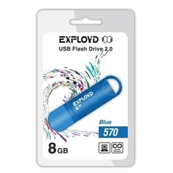Exployd 570 8GB (синий)
