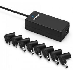 Универсальное сетевое зарядное устройство для ноутбуков Pitatel ADU-40.1A (9.5-24V, 40W) - Сетевая, автомобильная зарядка для ноутбукаСетевые и автомобильные зарядки для ноутбуков<br>Универсальное сетевое зарядное устройство для ноутбуков. Подходит для многих моделей ноутбуков, имеет 8 различных адаптеров. Тип и размер разъема: 19V 5.0x3.0, 19V 5.5x.1.7, 9.5/10V 4.8x1.7, 12V 4.8x1.7, 19V 4.0x1.7, 20V 5.5x2.5, 19V 2.5x.0.7, 19V 3.0x1.1