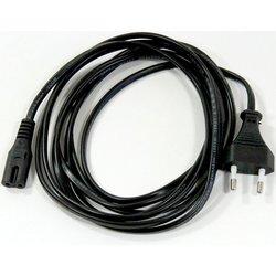 Кабель IEC-320-C7-Питание 2pin 3м (VCOM CE023_CU0.5-3M) (черный) - Кабель, переходник