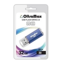 OltraMax 30 32GB (синий) - USB Flash drive  - купить со скидкой
