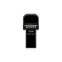 ADATA i-Memory AI920 32GB (черный) - USB Flash driveUSB Flash drive<br>ADATA i-Memory AI920 32GB - флэш-накопитель, объем 32Гб, интерфейс USB 3.1/Lightning, скорость чтения 150Мб/с, водонепроницаемый корпус.
