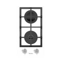 Electronicsdeluxe GG2 400215F-002 - Варочная поверхностьВарочные панели<br>Electronicsdeluxe GG2 400215F-002 - газовая варочная панель, независимая, поверхность из закаленного стекла, 2 газовые конфорки, переключатели поворотные, электроподжиг, 28.8x51 см.