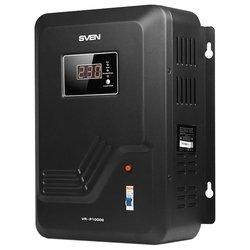 SVEN VR-P10000 - Стабилизатор напряженияСтабилизаторы напряжения<br>SVEN VR-P10000 - релейный стабилизатор напряжения, 10000 В·А