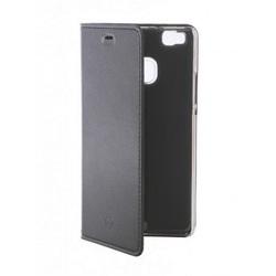 Чехол-книжка для Huawei P9 Lite (Celly Air Case AIR564BKCP) (черный) - Чехол для телефонаЧехлы для мобильных телефонов<br>Чехол плотно облегает корпус и гарантирует надежную защиту от царапин и потертостей.