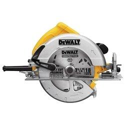 DeWALT DWE575 - Дисковая пилаДисковые пилы<br>DeWALT DWE575 - дисковая пила, мощность 1600 Вт, диаметр диска 190 мм, вес 4 кг