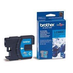 Картридж для Brother DCP-145C, 165, 185, 195, 365, 375, 385, MFC-250C, 290 BrLC980C (голубой) - Картридж для принтера, МФУ
