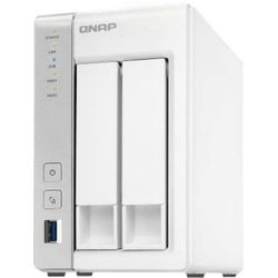 QNAP D2 (белый) - Внутренний жесткий диск HDDВнутренние жесткие диски<br>Сетевое хранилище NAS, количество отсеков для HDD: 2 (жесткие диски не установлены), интерфейс поддерживаемых HDD: SATA III, форм-фактор HDD: 2.5-3.5quot;, поддержка HDD до 10 Тб.