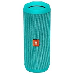 JBL Flip 4 (бирюзовый) - Колонка для телефона и планшетаПортативная акустика<br>Звук стерео, мощность 2x8 Вт, питание от батарей, Bluetooth.