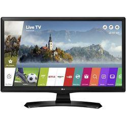 LG 24MT49S-PZ (черный) RUS - ТелевизорТелевизоры и плазменные панели<br>Диагональ: 24quot;, разрешение: 1366x768, HDTV HD READY (720p), DVB-T2, DVB-С, DVB-S2, Smart TV, Wi-Fi.