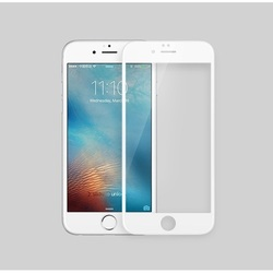 Защитное стекло для Apple iPhone 6, 6S (4038) (3D, белый) - ЗащитаЗащитные стекла и пленки для мобильных телефонов<br>Стекло поможет уберечь дисплей от внешних воздействий и надолго сохранит работоспособность смартфона.