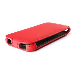 Чехол-флип для BQ S-5020 Strike (iBox Premium YT000011507) (красный) - Чехол для телефонаЧехлы для мобильных телефонов<br>Чехол плотно облегает корпус и гарантирует надежную защиту от царапин и потертостей.