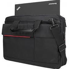 Сумка для ноутбука 14.1 (Lenovo ThinkPad 4X40H75820) (черный) - Сумка для ноутбукаСумки и чехлы<br>Удобная сумка для ноутбука с диагональю экрана не более 14,1 дюйма. Снаружи имеется два застегивающихся кармана, внутри – одно большое отделение и шесть маленьких. Плечевой ремень съемный. Крепление на ручку багажной сумки.